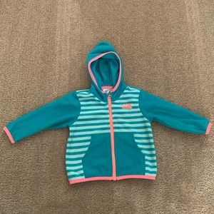 The North Face girls fleece jacket